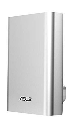 ASUS ZenPower - baterías externas (Ión de Litio, USB, Plata, Aluminio, Universal, -40-70 °C)