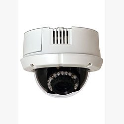 American Dynamics ADCIPE3312ICN VideoEdge IP Indoor Mini-Dome, 3.3-12mm, clear, NTSC, w/power supply