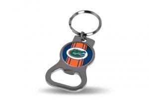 Rico Industries NCAA Florida Gators Sports Fan Keychains, Blue & Orange, One Size ()