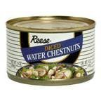Reese Diced Water Chestnuts - 8 oz - 2 Pack by Reese