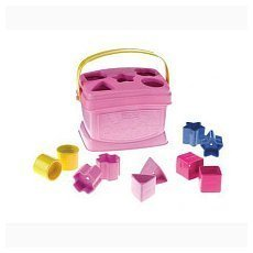Fisher Price Brilliant Basics Baby's First Blocks Pink