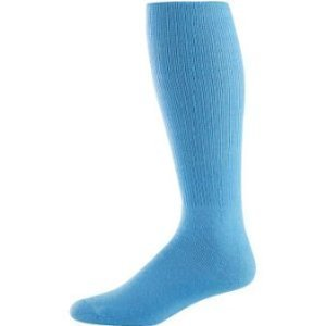 Light Sock Blue - Joe's USA - Baseball Game Socks Light Blue, Youth (6-9)