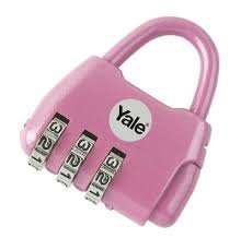 Yale yy-novelty-2  m Kombination Novelty, Magenta, Mini Vorhä ngeschloss YY-NOVELTY-2M