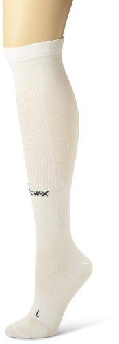 cw-x-unisex-adult-ventilator-compression-support-socks-white-medium