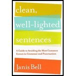 Read Online Clean, Well-Lighted Sentences- A Guide to Avoiding the Most Common Errors in Grammar & Punctuatio (08) by Bell, Janis [Hardcover (2008)] pdf