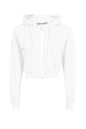 crop hooded sweatshirt - 5