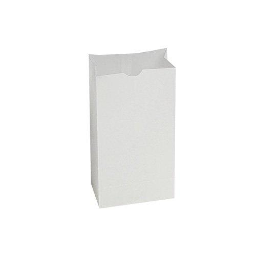 Bagcraft 300294 SOS Bakery Bag Dubl Wax, 5w x 3 1/8d x 9 11/16h, White (Case of 1000) (Dubl Wax)