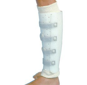 Miami Prefabricated Tibial Fracture Brace, Large, Left by Miami