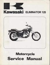 1998-2004 Kawasaki Eliminator 125_BN125 models OEM Factory Service Manual