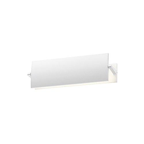 Sonneman Lighting Aileron 12-inch LED Textured White Sconce