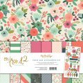 My Minds Eye OT2014 On Trend 2 Paper & Accessories Kit, 12″ by 12″, Multicolor Review