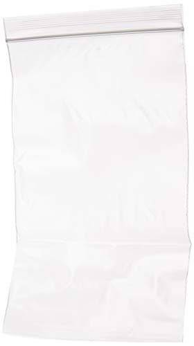 5 x 8 inches, 2Mil Clear Reclosable Zip Lock Bags, case of 1,000 GPI Brand