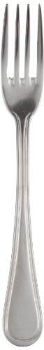 Adcraft AV-TBF 8 Inch Length, Mirror Finish, 18-8 Stainless Steel Flatware Avalon Table Fork (Pack of (Adcraft Fork)