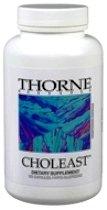 Choleast (Levure de riz rouge) 120 caps par Thorne Research