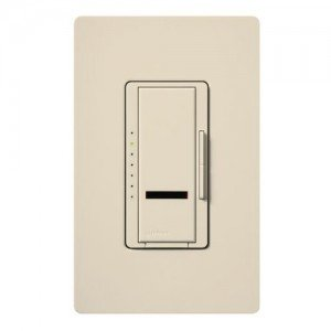 Dimmer Switch, 1000W Multi-Location Maestro IR Wireless Light Dimmer w/ Remote - Light Almond-2PK