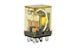 IDEC RH2B-UAC110-120V POWER RELAY, DPDT, 120VAC, 10A, PLUG IN