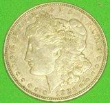 (1921 Morgan Silver Dollar)