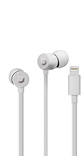 Beats urBeats3 Earphones with Lightning Connector - Satin Silver (Renewed) (Urbeats Silver)
