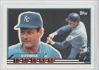 George Brett (Baseball Card) 1989 Topps Big - [Base] #46