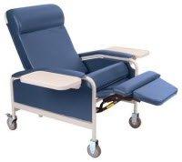 1161176 Convalescent Recliner w/IV XL BlueRidge Ea Winco, Inc. -5291-17-IV