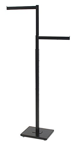 KC Store Fixtures 28210 2-Way Garment Rack with 2-16