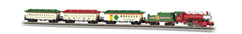 - Bachmann Trains - Spirit of Christmas Ready to Run Electric Train Set - N Scale
