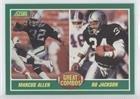 Marcus Allen; Bo Jackson (Football Card) 1989 Score - [Base] #284 (Score Football 1989)