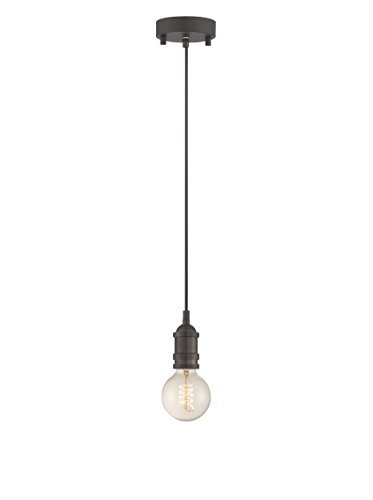 Copper Hilite Pendant (Lite Source LS-19830AGED/CP Umar Pendant, Aged Copper by Lite Source)