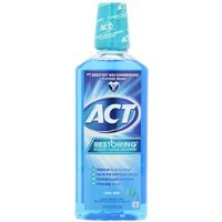 Act Restoring Mouthwash, Cool Splash Mint - 18 Ounce, Pack of 3 by ACT