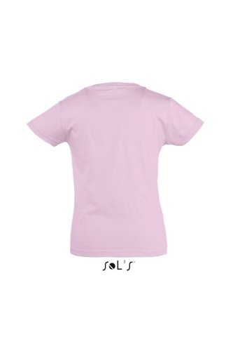 Sol 's Kids – Camiseta Girlie – Cherry medium pink