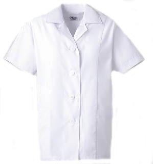 女子衿付白衣 半袖<C250>