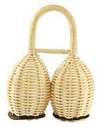 Rattan Double Shaker (Double Rattan Shaker - Tycoon Percussion)