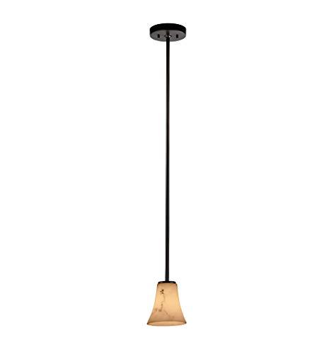 Justice Design Group LumenAria Mini 1-Light Pendant, Dark Bronze ()