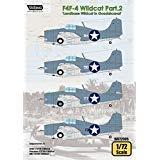 Wolfpack 1:72 F4F-4 Wildcat Part.2 Landbase Wildcat Guadalcanal Decal #WD72005