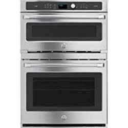 """GE CT9800SHSS Advantium 30"""" Stainless Steel Electric Combination Wall Oven - Convection - Speed Oven"""