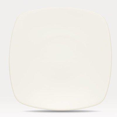 Safe Plates Microwave Noritake - Noritake Colorwave Cream Square Dinner Plate