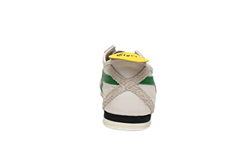 competitive price 26f61 468a0 Onitsuka Tiger Unisex Mexico 66 SD Shoes 1183A036, Cream/Green, 11.5 M US