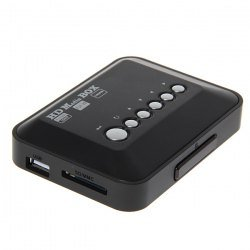 1080P HD Mini Movie MBOX Media Flash Player System...