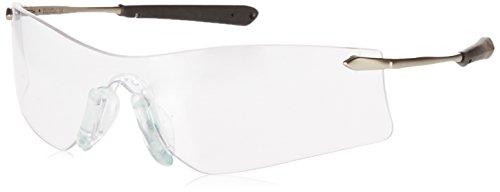 (Crews T4110AF Rubicon Safety Glasses Metal Temple w/Clr Anti-Fog Lens (12 Pair))