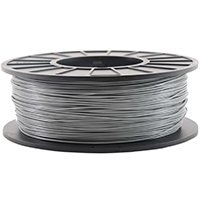 Inland 1.75mm Silver PLA 3D Printer Filament - 1kg Spool (2.2 - Inland Center