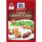 (McCormick Original Country Gravy Mix, 2.64 oz (Pack of)