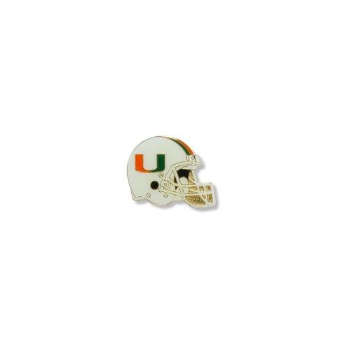 Hurricanes Logo Pin - NCAA Miami Hurricanes Helmet Pin