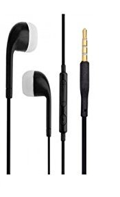 AllExtreme Headphones with Mic, Earphones, Handsfree Headset with Deep Bass and Music Equalizer  3 Handsfree Black