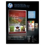 HP Q6543A Color Laser Brochure Paper, 98 Brightness, 40lb, 8-1/2 x 11, White, 150 Shts/Pk by HP