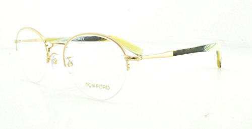 Tom Ford Eyeglasses TF 5334 Eyeglasses 032 Gold and beige horn - Tom Men For Eyewear Ford