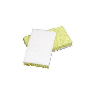 Impact White/Yellow Scrub Sponge, Case
