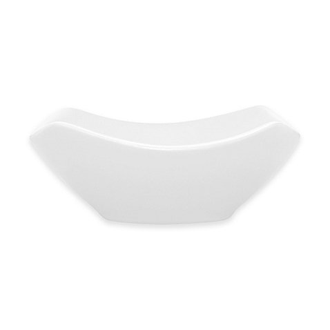 Noritake Colorwave Small Square Bowl in White