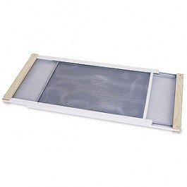 Frost King WB Marvin AWS1045 Adjustable Window Screen, 10in High x Fits 25-45in (Kitty Screen)