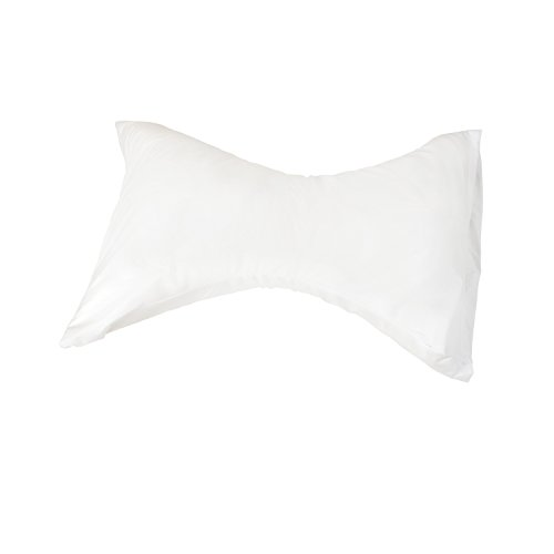 DMI Rest Pillow Hypoallergenic Bed Pillow Neck Pillow with White Cover