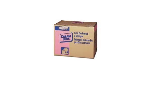 Amazon.com: Cream Suds Manual Pot & Pan Detergent w/o Phosphate, Baby Powder Scent, Powder, 25 lb. Box - PGC02120: Home Improvement